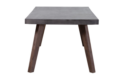 Son Dining Table Cement & Natural