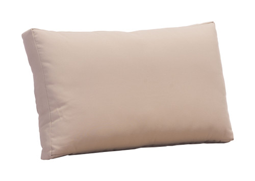 Glass Beach Back Cushion Taupe
