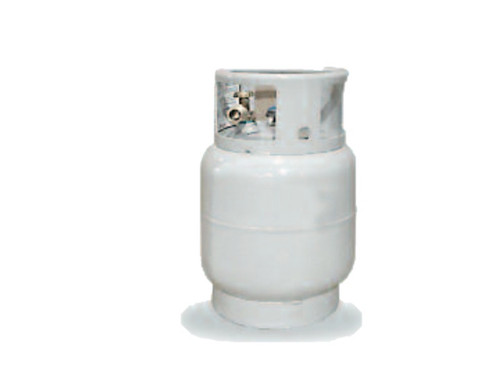 Manchester Tank 20 lb Vertical Steel Vapor Buffer Cylinder - Multiple Valve Options