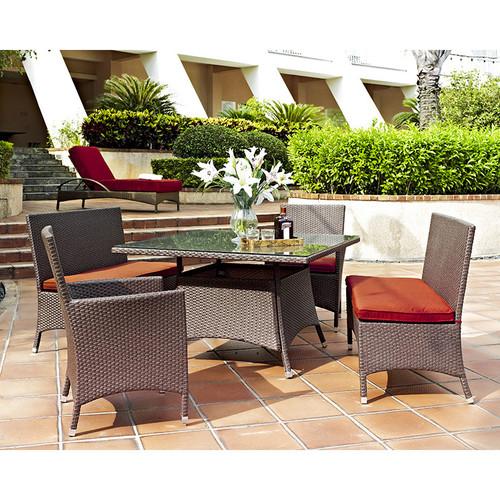 Evans Lane - Sanibel 5 Piece Outdoor Dining Combo Set