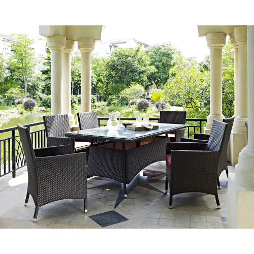 Evans Lane - Sanibel 7 Piece Outdoor Dining Set