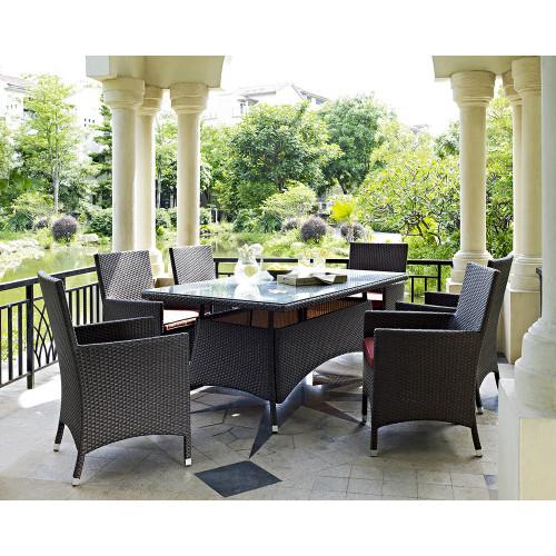 Evans Lane - Sanibel 7 Piece Outdoor Dining Set