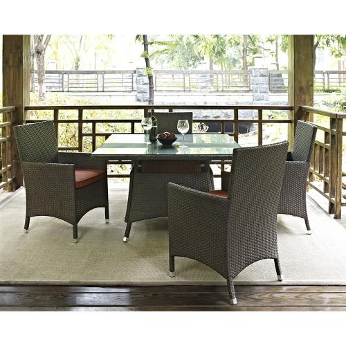 Evans Lane - Sanibel 5 Piece Outdoor Dining Set