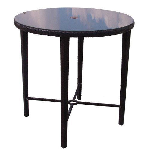 Evans Lane - Cruz Bay Bar Height Table