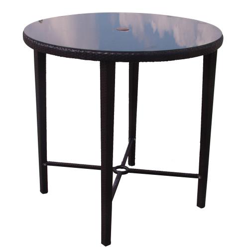 Evans Lane - Cruz Bay Bar Height Table