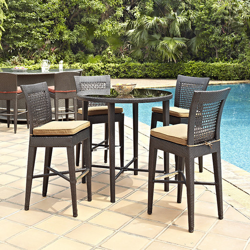 Evans Lane - Cruz Bay Bar Height Table - Chairs Not Included