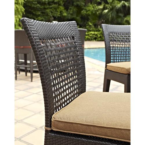 Evans Lane - Cruz Bay Bar Height Chair - Close Up