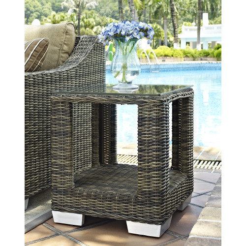 Evans Lane - Palmetto End Table
