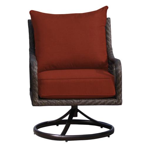 Evans Lane - Port Royal Swivel Rocker Club Chair