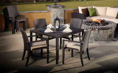 Sunset West - Solana Dining Chair with Arm