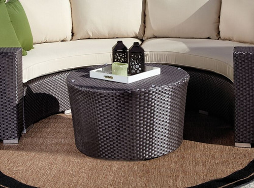 Sunset West - Solana Wicker Coffee Table