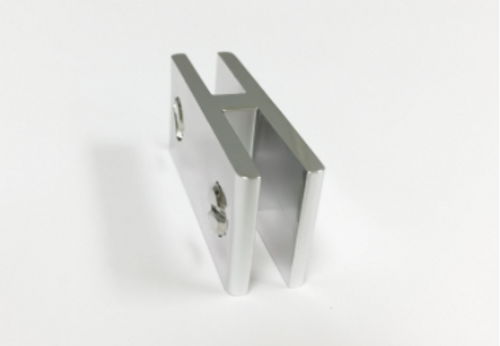 Outdoor Greatroom - 180 Degree Connector for Glass Guards - Top