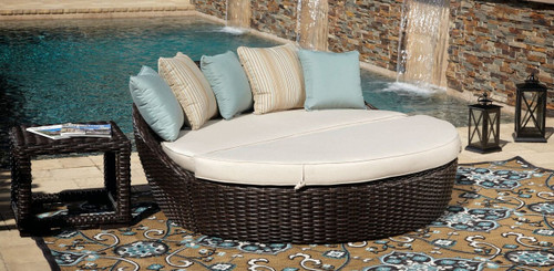 Sunset West - Cardiff Round 2 Piece Daybed
