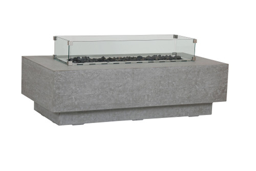 Gravelstone Rectangle Fire Table