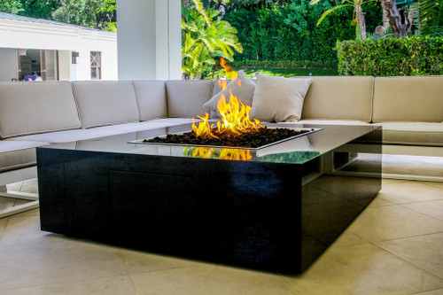 COOKE Famosa - Custom Contemporary Fire Pit Table
