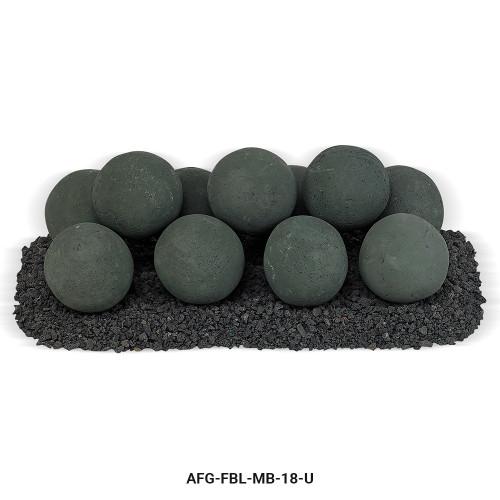 AFG - Matte Black Lite Stone Ball Set - Uniform