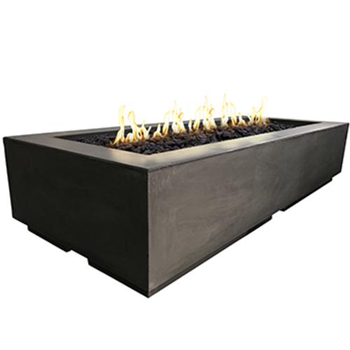 American Fyre Designs Louvre Long Rectangle Fire Pit