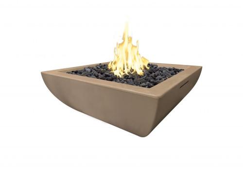 American Fyre Designs Bordeaux Petite Square Fire Bowl