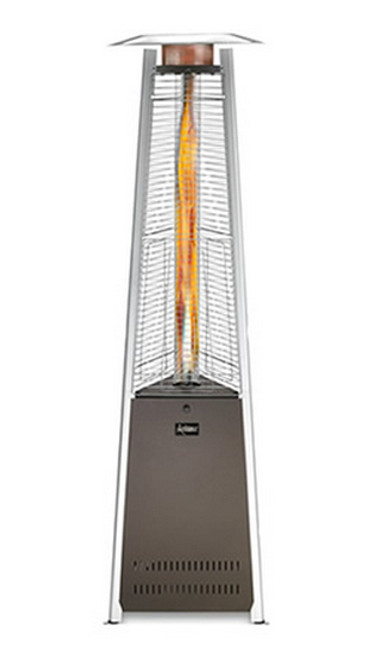 Patio Comfort - Ambiance Decorative Gas Patio Heaters- LP - Bronze