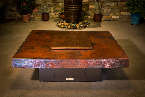 COOKE Santa Barbara Fire Pit Table 48x48