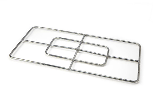 """Hearth Products Controls - 48"""" x24"""" High Capacity Rectangle Burne r- Stainless Steel"""