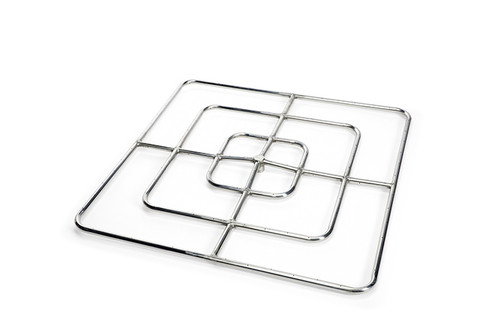 """Hearth Products Controls - 36"""" High Capacity Square Burner - Stainless Steel"""