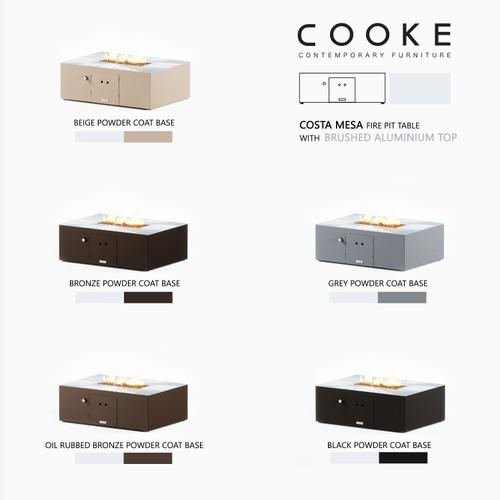 COOKE Costa Mesa - Aluminium Top
