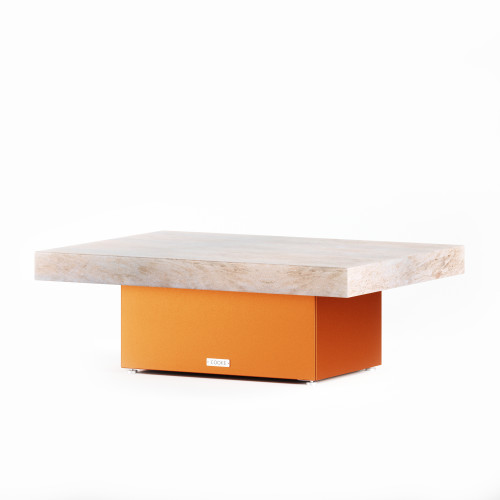 COOKE Santa Barbara Contemporary Granite Coffee Table