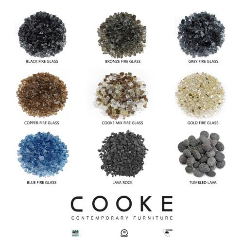 "COOKE Parkway 44"" x 44"" Dining - Aluminium Top"