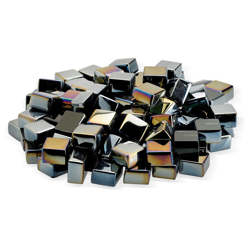 American Fire Glass - Fire Glass 2.0 - Multiple Color Options - 10 lbs