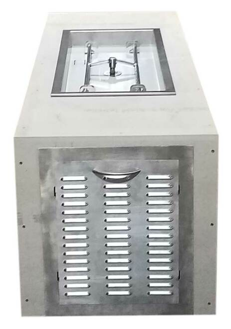 H-Burner Pictured here.  This product comes with Trough burner.