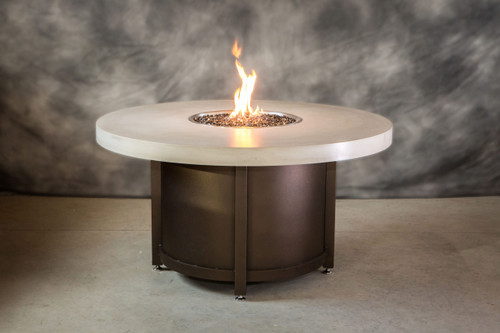 COOKE Colorado Fire Pit Table with Concrete Top