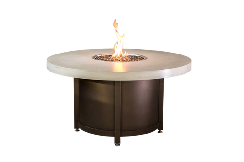 """COOKE Colorado Fire Pit Table 55"""" DIA 25"""" Tall"""