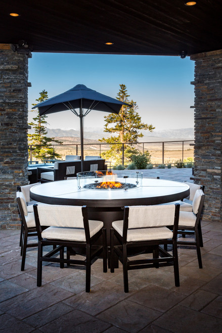COOKE Mammoth Fire Pit Table