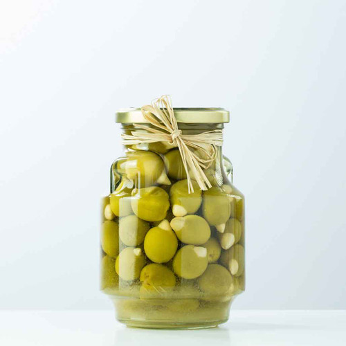 Buy Delizia Stuffed Olives with Almonds from Squizito Tasting Room