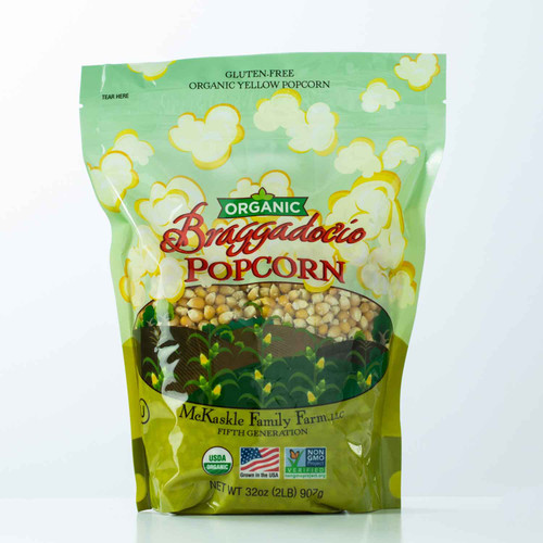 Buy Organic Non-GMO Popcorn Kernels from Squizito Tasting Room
