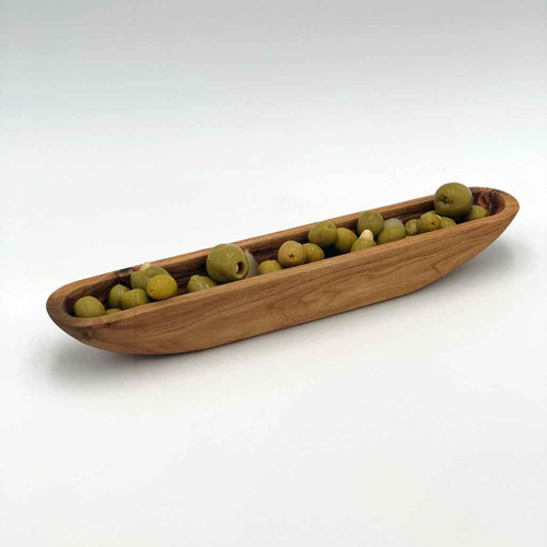 Buy Olive Wood Olive Boat from Squizito Tasting Room