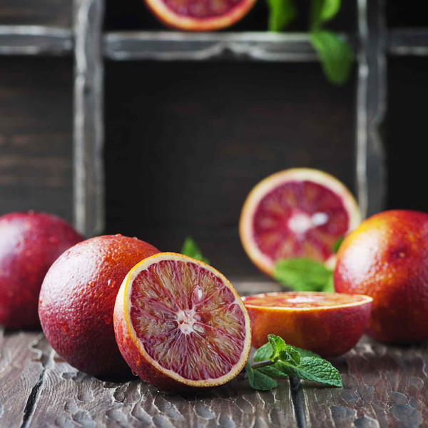 Buy Whole Fruit Blood Orange Fused Olive Oil from Squizito Tasting Room