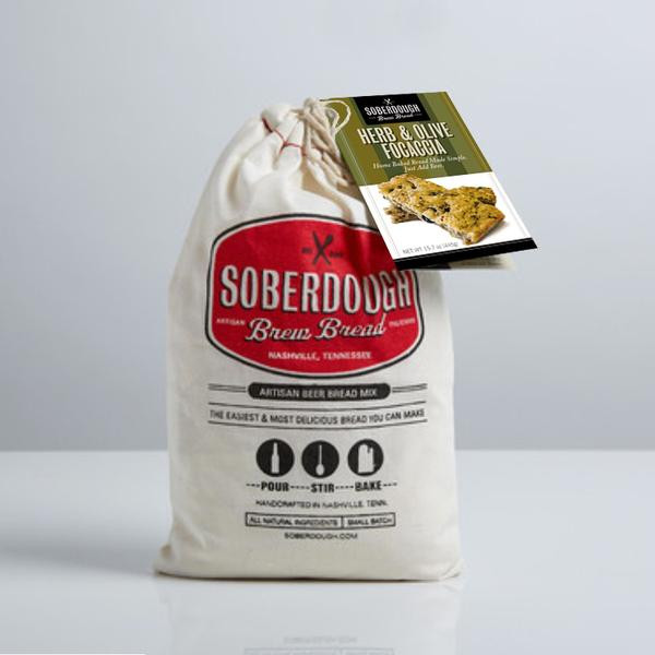 Buy Herb and Olive Focaccia Soberdough Beer Bread Squizito Tasting Room