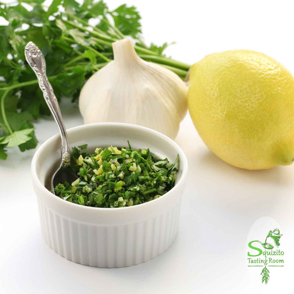 Nutrition Facts Milanese Gremolata Infused Olive Oil