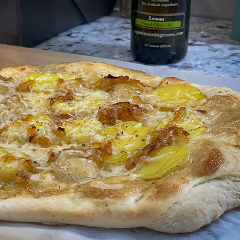 Easy Homemade Pizza and Focaccia