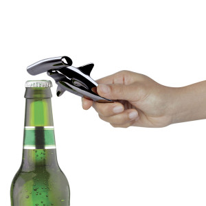Hammered Head Bottle Opener and Corkscrew (Gun Metal)