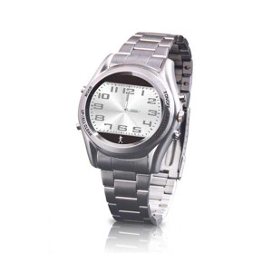 Carepeutic Hidden Pedometer Men's Dress Watch