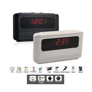 Secuvox Talking Alarm Clock (Motion Detection HD Camera)