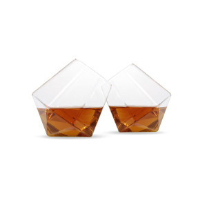 Diamond Glasses - Set of 2