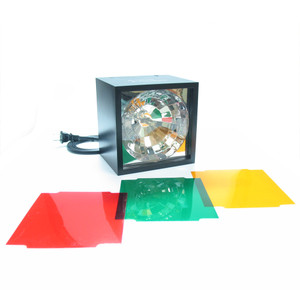Unido Box Cube Strobe Light with Color Filters | 2Shopper.com