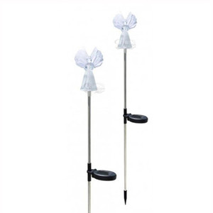 Solar Powered Angel LED Light Garden Stake | 2Shopper