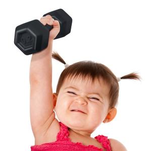 Buff Baby Dumbell Rattle | 2shopper.com