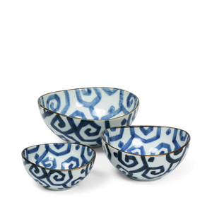 Uzu Karakusa Nested Bowl Set