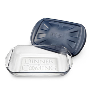 Etchware Dinner Is Coming 3 Quart Baking Dish